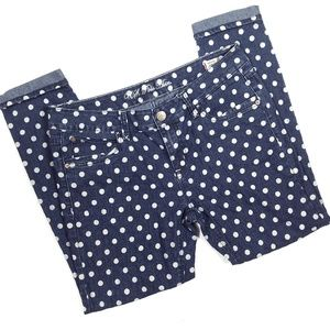 U.S. Polo Assn Polka Dot Skinny Jeans